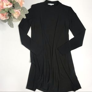 Annalee + Hope Dress Black Long Sleeve Swing